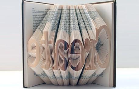 Unreadable book