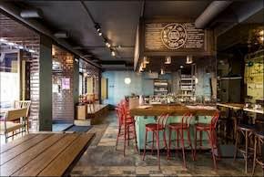 Дизайн Pinch Cafe