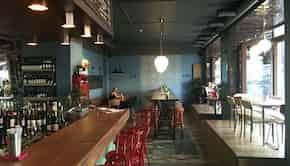 Интерьер Pinch Cafe